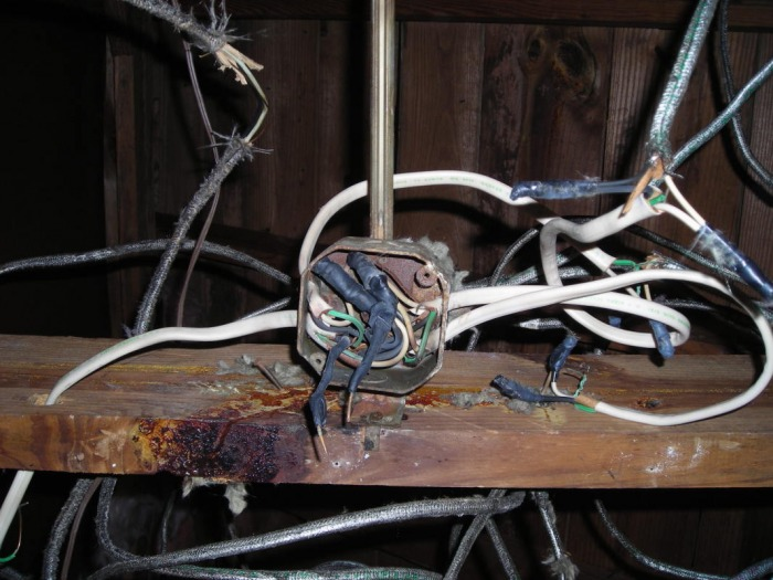 Older Wiring - Blue Star Electric Call 404.234.6777
